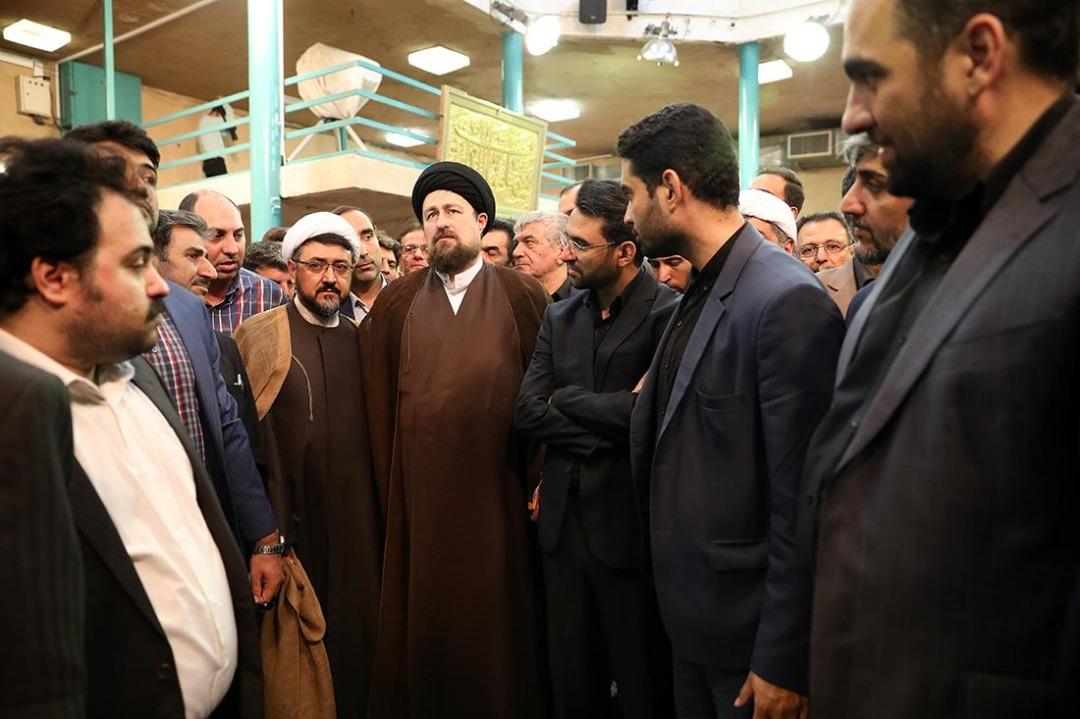 واقعیت مجازی جماران جهرمی خمینی